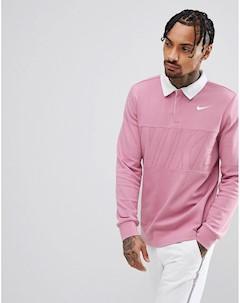 Розовый лонгслив поло 885847 678 Nike sb