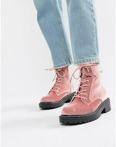 Походные ботинки на толстой подошве Blink