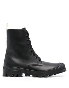 Ботинки в стиле милитари с логотипом Loewe