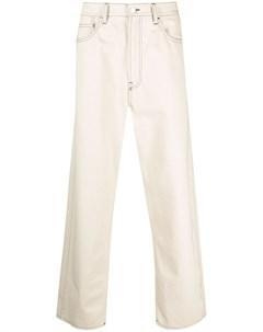 Прямые джинсы с завышенной талией Sunnei