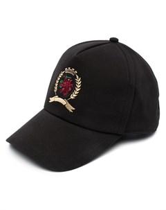 Бейсболка с вышитым логотипом Tommy hilfiger