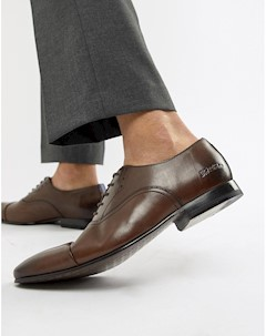 Коричневые кожаные оксфордские туфли Murain Коричневый Ted baker london