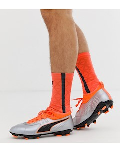 Кожаные футбольные бутсы ONE 3 Оранжевый Puma