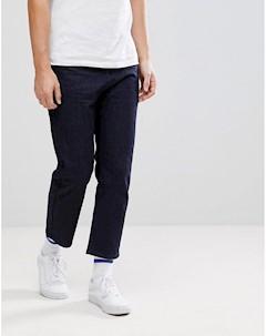 Укороченные джинсы цвета индиго Linbergh Lindbergh