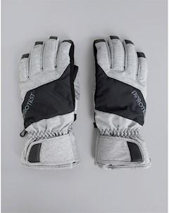 Серые перчатки Griffin Серый Protest