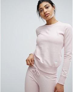 Розовый свитшот Essentials Розовый Converse