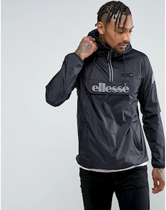Черная куртка без застежки со светоотражающим логотипом Черный Ellesse