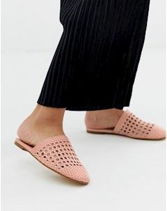 Мюли слипоны Aldo Розовый