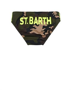 Камуфляжные плавки детские Saint barth