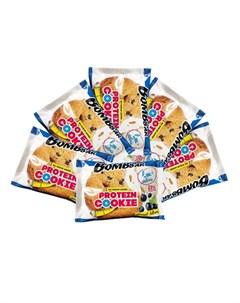 Печенье протеиновое Смородина и черника 6х40 г Bombbar