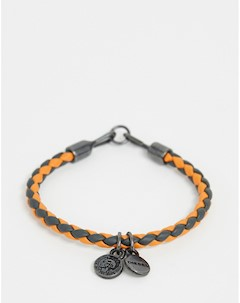 Оранжевый браслет с подвесками Оранжевый Diesel
