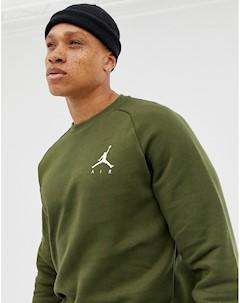 Зеленый свитшот с логотипом Nike 940170 395 Зеленый Jordan