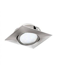 Встраиваемый светодиодный точечный светильник pineda Eglo