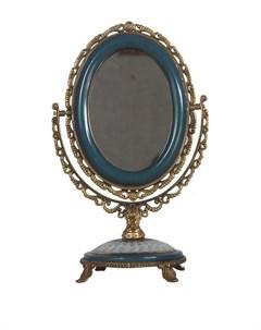 Зеркало настольное 13x13x30 Гласар