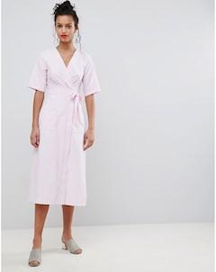 Платье миди с запахом Uttam boutique