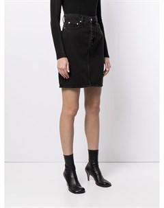 Джинсовая юбка Lou с завышенной талией Nobody denim