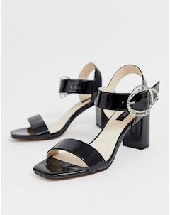 Босоножки на блочном каблуке Blink