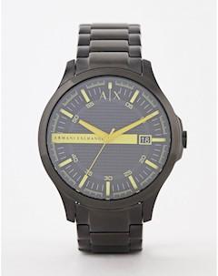 Часы браслет 46 мм AX2407 Черный Armani exchange
