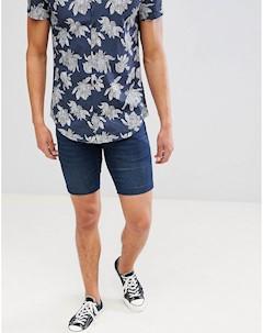 Синие джинсовые шорты Lindbergh