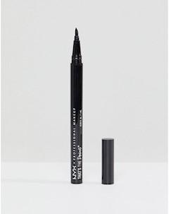 Подводка для глаз Thats The Point Super Sketchy Черный Nyx professional makeup
