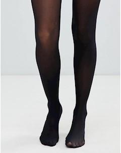 Черные колготки плотностью 40 ден с корректирующим эффектом из ткани с добавлением переработанных ма Asos design