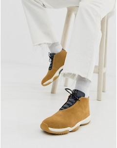 Коричневые кроссовки Nike Air Future Коричневый Jordan