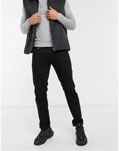 Черные джинсы прямого кроя Bob Wesc