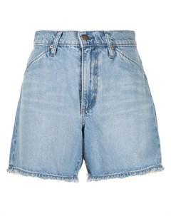 Джинсовые шорты Erin с завышенной талией Nobody denim