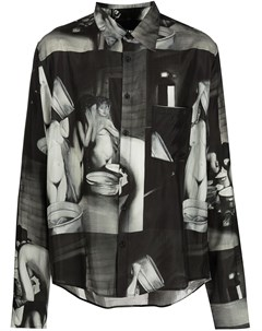 Рубашка Kiln с принтом Rochambeau