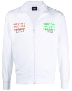 Куртка Binary на молнии с логотипом Omc