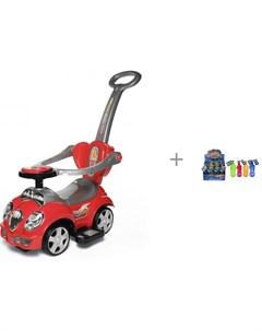 Каталка Cute Car 558W и Мыльные пузыри Hot Wheels в виде машинки 180 мл Baby care