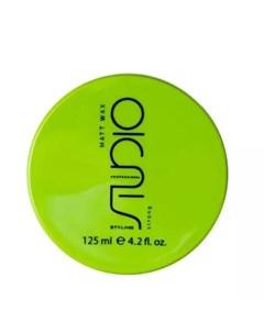 Матовый воск для укладки волос сильной фиксации Matt Wax 125 мл Средства для укладки Kapous professional