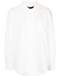 Рубашка с перфорацией Comme des garçons tricot