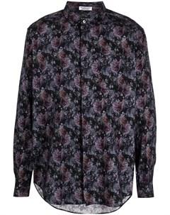 Рубашка с цветочным принтом Engineered garments