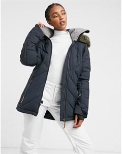 Черная зимняя куртка Roxy