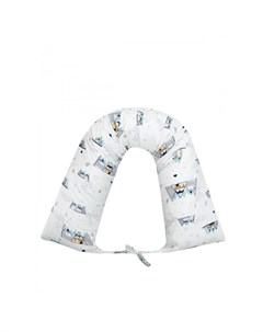 Подушка для беременных валик Горы 170х35 Amarobaby
