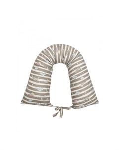 Подушка для беременных валик Радуга Amarobaby