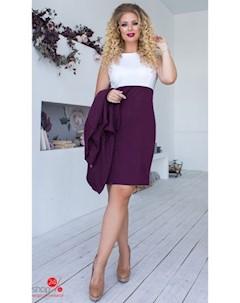 Комплект платье накидка цвет фиолетовый Oh my look