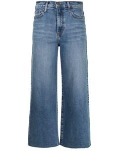 Укороченные джинсы Milla широкого кроя Nobody denim