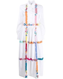 Платье рубашка с вышивкой Mira mikati