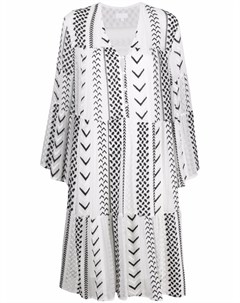 Платье Dafina X Stitch с вышивкой Lala berlin