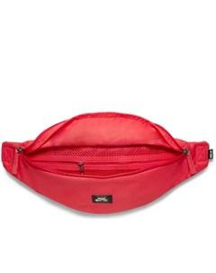 Сумка кошелек на пояс красного цвета Heritage Nike sb