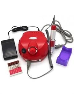 Аппарат для маникюра Аппарат для маникюра US 202 красный Nail drill