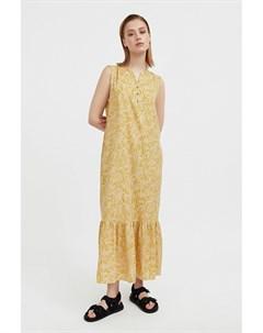 Платье макси с растительным узором Finn flare