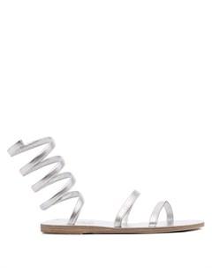Сандалии Ofis с эффектом металлик Ancient greek sandals