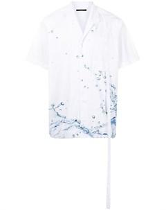 Рубашка с принтом Stampd