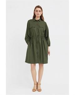 Льняное платье рубашка Finn flare