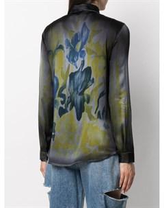 Рубашка с цветочным принтом Avant toi