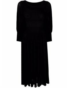 Платье мини в рубчик Antonino valenti