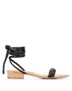 Сандалии с завязками на щиколотке Gianvito rossi
